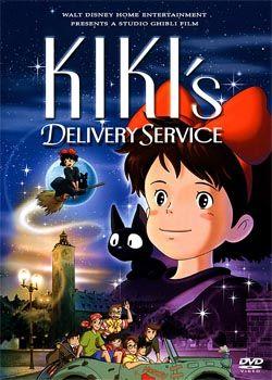 Служба доставки Кікі, юної відьми