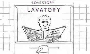 Вбиральня історія - любовна історія